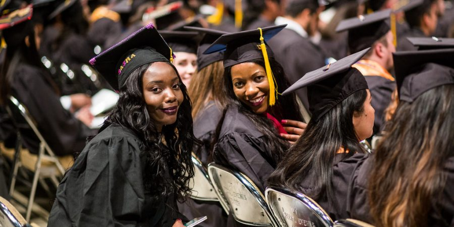 Austin Community College Fall 2017 Commencement ceremonies on Friday, December 15, 2017 at the Frank Erwin Center.
